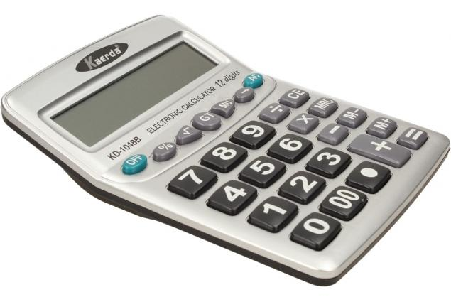 Foto 3 - Digitální kalkulačka KD-1048B velká
