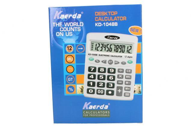 Foto 4 - Digitální kalkulačka KD-1048B velká