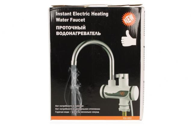Foto 5 - Průtoková vodovodní baterie stojánková s elektrickým ohřevem vody RX-002