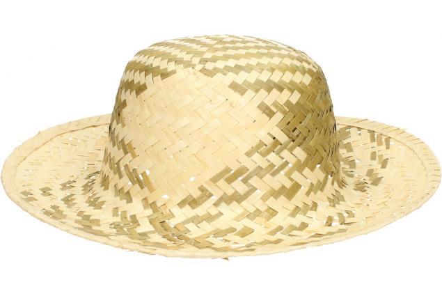 Foto 2 - Slaměný klobouk dvoubarevný