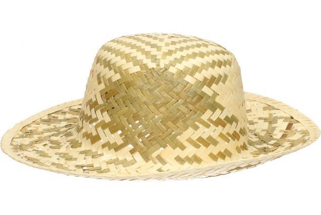 Foto 3 - Slaměný klobouk dvoubarevný