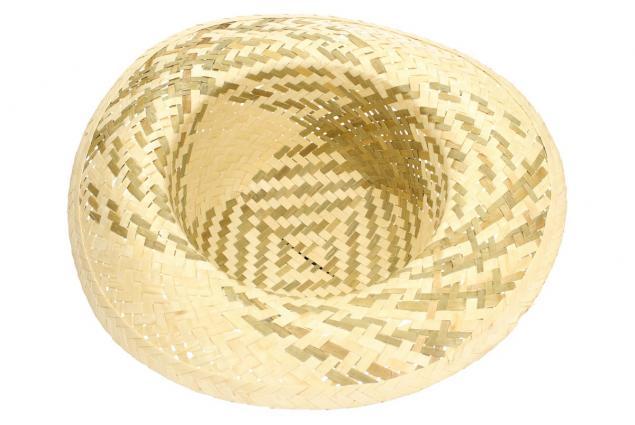 Foto 4 - Slaměný klobouk dvoubarevný