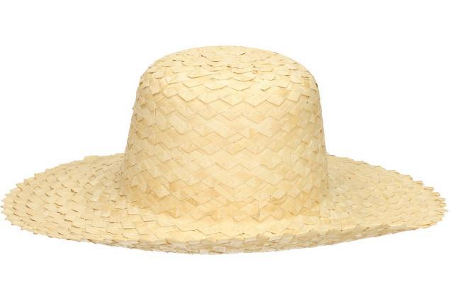 Foto 2 - Prošívaný slaměný klobouk