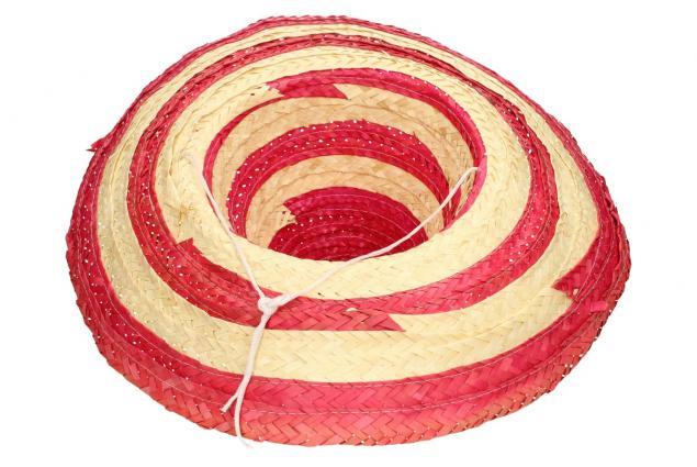 Foto 3 - Slaměné sombrero růžové