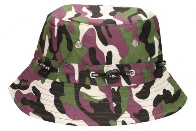 Foto 2 - Plátěný klobouk maskáčový