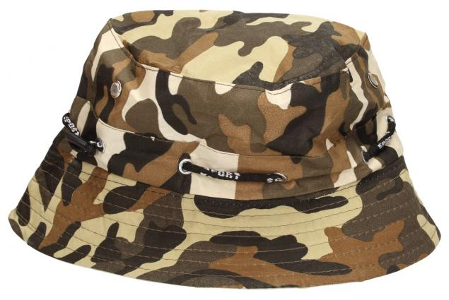 Foto 3 - Plátěný klobouk maskáčový