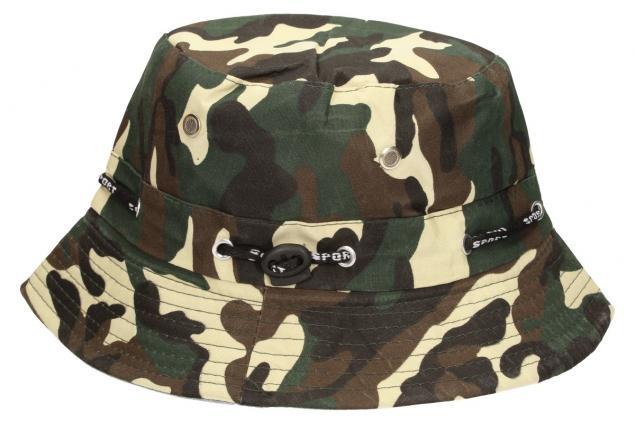 Foto 4 - Plátěný klobouk maskáčový