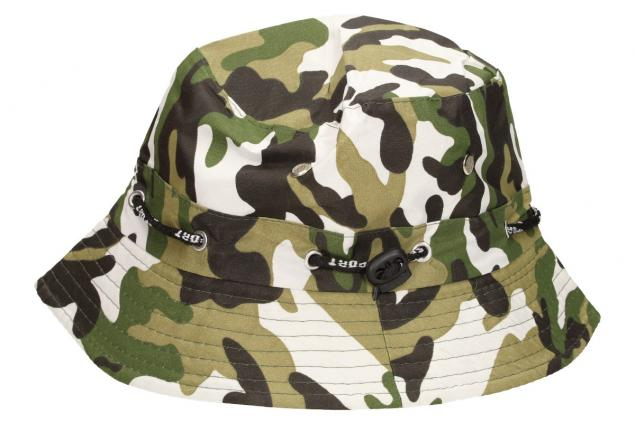 Foto 5 - Plátěný klobouk maskáčový