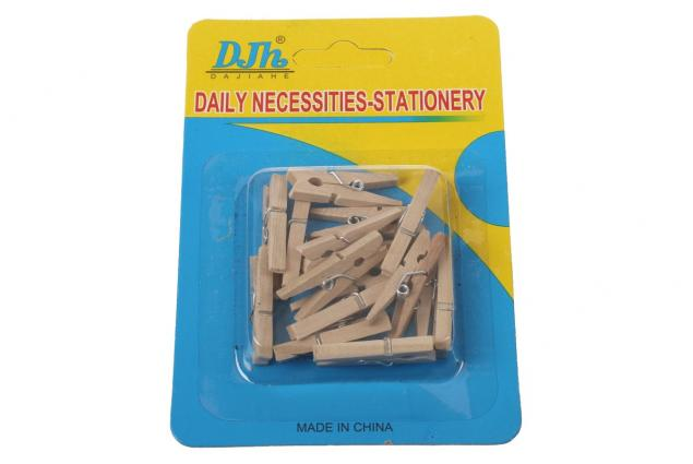 Foto 3 - Dřevěné mini kolíčky sada 15 kusů