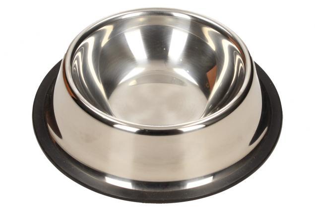 Foto 2 - Kulatá nerezová miska pro psy 13 cm