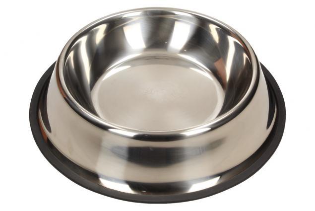 Foto 3 - Kulatá nerezová miska pro psy 23 cm