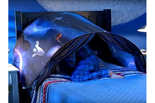 Foto 3 - Dětský stan nad postel Vesmír
