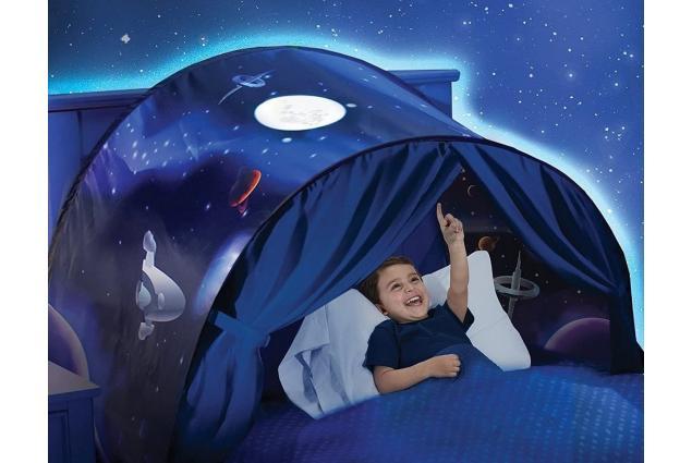 Foto 2 - Dětský stan nad postel Vesmír