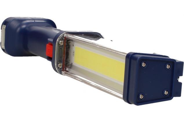 Foto 4 - Pracovní přenosné NABÍJECÍ super ostré světlo Heavy Duty WorkLight ZJ-889-B