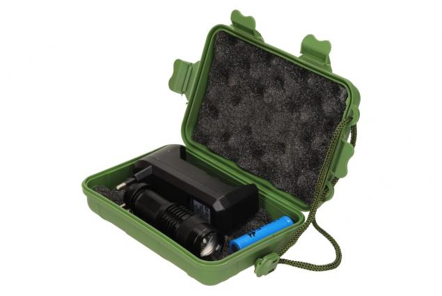 Foto 11 - UV Led baterka 1 x nabíjecí AA v pouzdře a nabíječkou