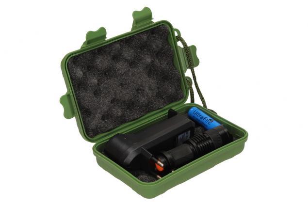 Foto 12 - UV Led baterka 1 x nabíjecí AA v pouzdře a nabíječkou