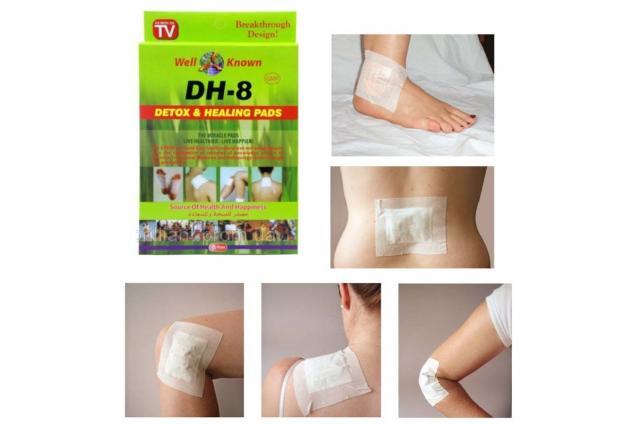 Foto 5 - Detoxikační a léčivé náplasti DH-8