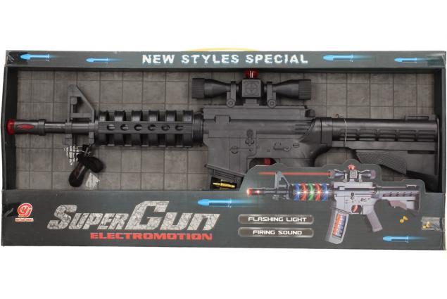 Foto 5 - Hračka pistole samopal