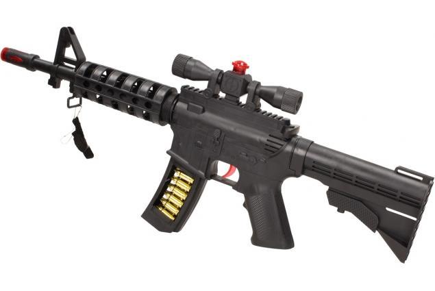 Foto 2 - Hračka pistole samopal