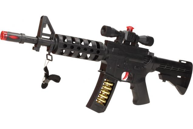 Foto 3 - Hračka pistole samopal