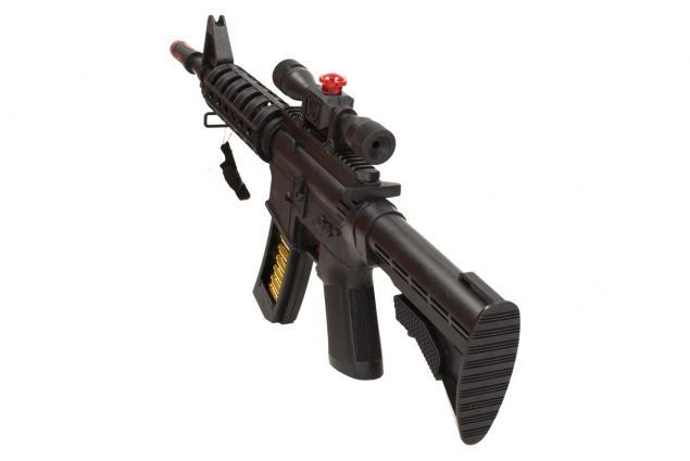 Foto 4 - Hračka pistole samopal