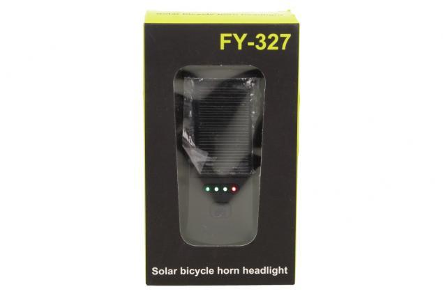 Foto 10 - Multifunkční solární světlo na kolo a klakson FY-327