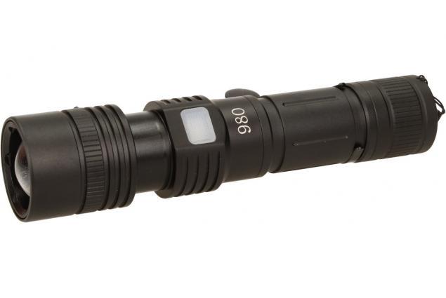 Foto 4 - Nabíjecí baterka HT-447 voděodolná se zoomem a svitem 800 Lm