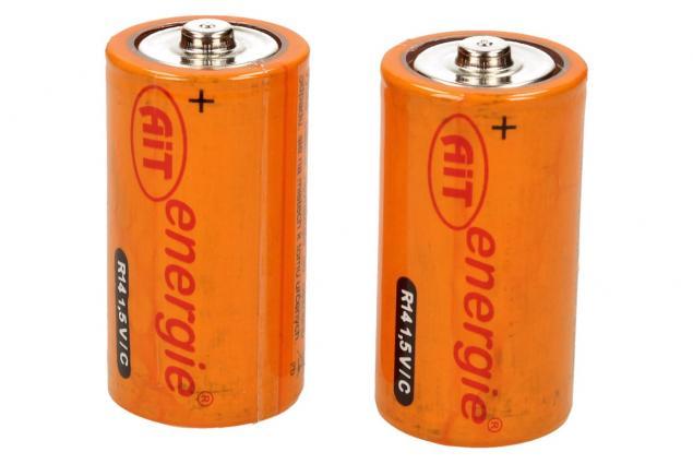 Foto 3 - Baterie R14 1,5V/C  - balení 2ks