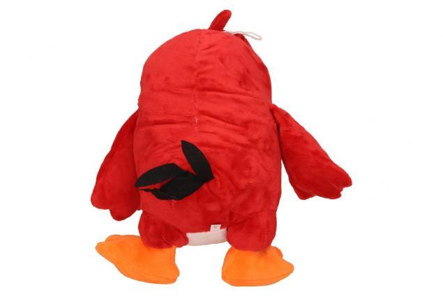 Foto 3 - Plyšák pták červený