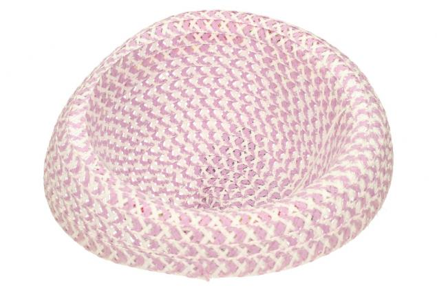 Foto 5 - Dětský klobouk s mašličkou fialový