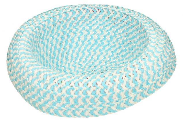 Foto 5 - Dětský klobouk s mašličkou modrý