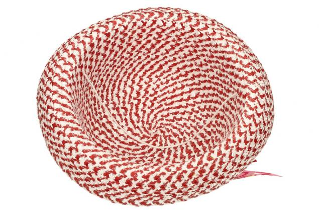 Foto 5 - Dětský klobouk s mašličkou červený