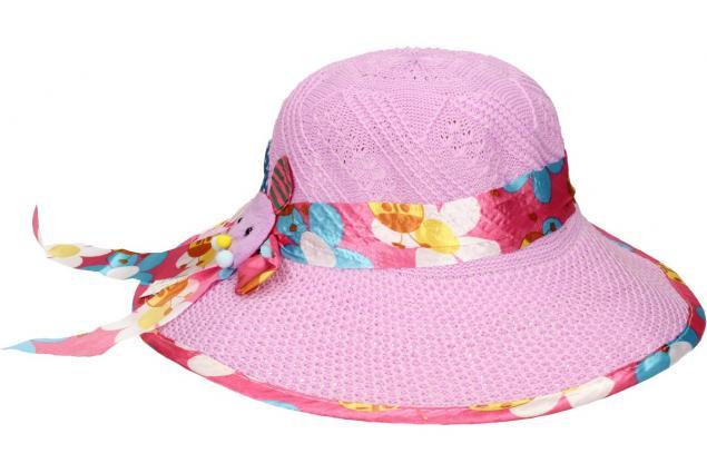 Foto 3 - Dětský klobouk s králíkem fialový