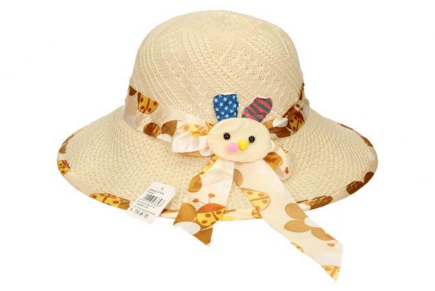Foto 2 - Dětský klobouk s králíkem béžový