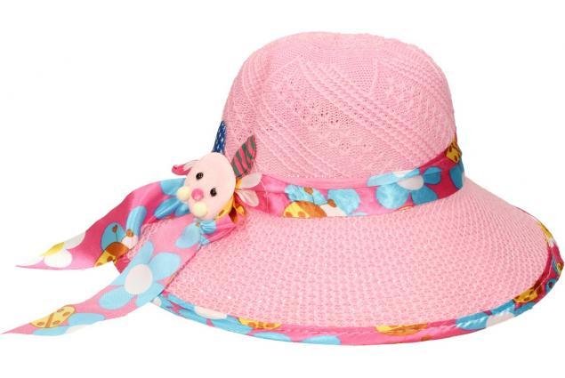 Foto 3 - Dětský klobouk s králíkem světle růžový