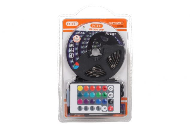Foto 2 - LED pásek RGB 1 m s ovladačem USB