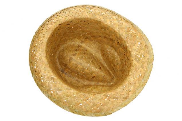 Foto 4 - Slaměný kovbojský klobouk s černým páskem nejmenší