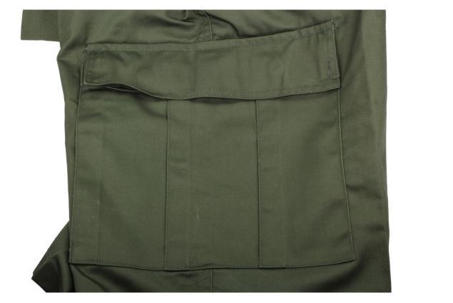 Foto 5 - Pánské khaki kraťasy Mil-Tec - Bermuda Oliv