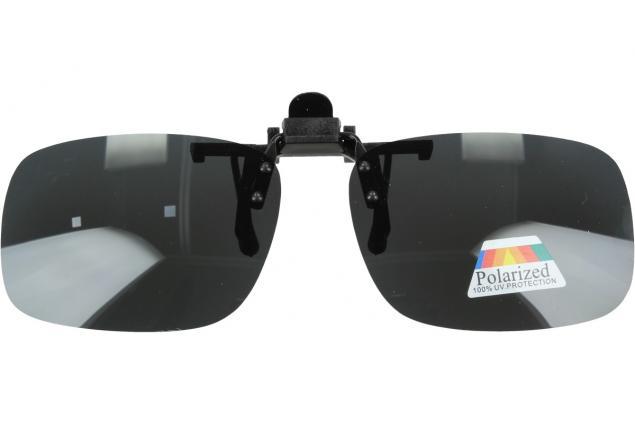 Foto 2 - Polarizační sluneční Klip na brýle šedý
