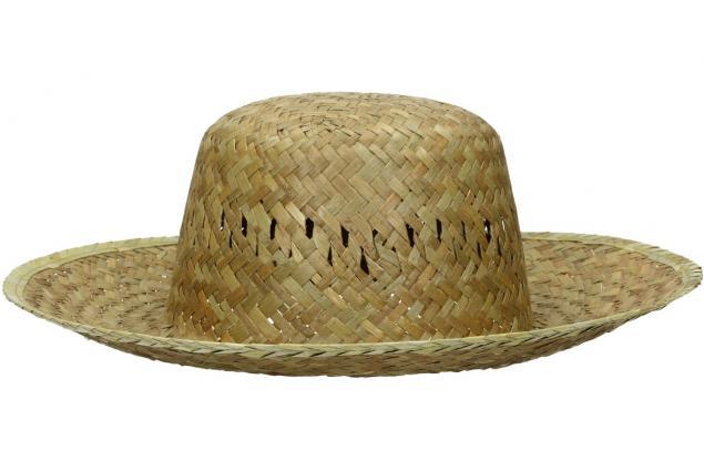 Foto 3 - Slaměný klobouk kulatý
