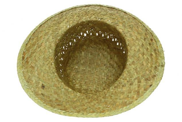 Foto 4 - Slaměný klobouk kulatý