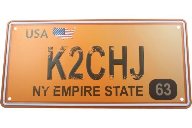 Foto 2 - Cedule značka USA 30x15,5 cm NY EMPIRE STATE