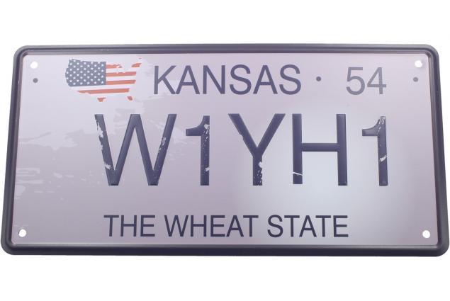 Foto 2 - Cedule značka USA 30x15,5 cm THE WHEAT STATE