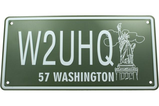 Foto 2 - Cedule značka USA 30x15,5 cm WASHINGTON