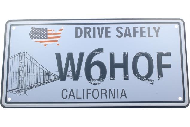 Foto 2 - Cedule značka USA 30x15,5 cm CALIFORNIA
