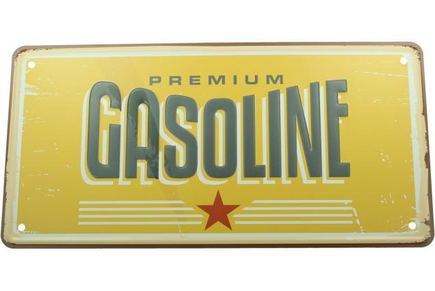 Foto 2 - Cedule značka USA 30x15,5 cm PREMIUM GASOLINE