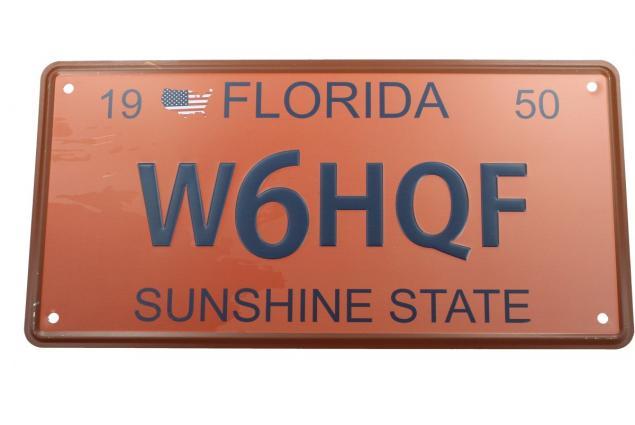 Foto 2 - Cedule značka USA 30x15,5 cm FLORIDA SUNSHINE STATE