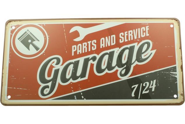 Foto 2 - Cedule značka USA 30x15,5 cm GARAGE