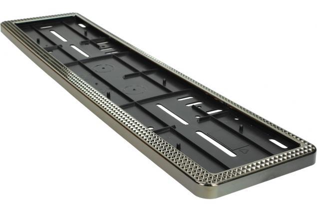 Foto 4 - Tabulka pod SPZ rám ozdobný stříbrný