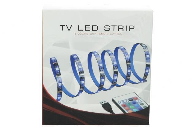 Foto 2 - LED RGB pásek za TV 2m YX-3865